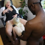 Lacey Starr interracial threesome