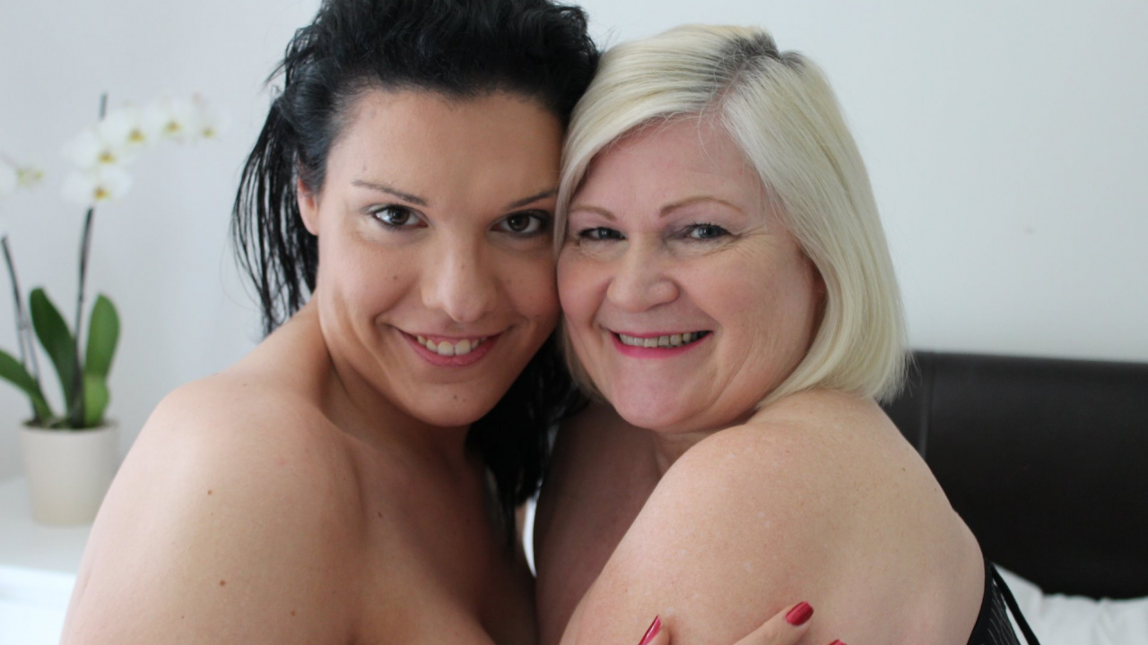 Nikki Vidic and Lacey Starr
